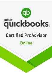 Quickbooks Certified ProAdvisor Badge